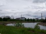 Reaktor 4 und Sarkophag