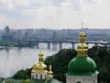 Hoehlenkloster und Dnepr