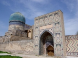 Samarkand -Bibi-Khanum-Moschee