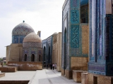 Samarkand - Nekropole Shah-i-Zinda