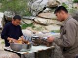 Zarafshan Gebirge - Ofenfleisch