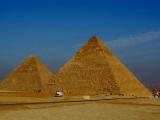 Gizeh - Cheops Pyramide und Chefren Pyramide