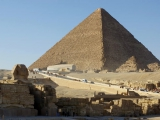Sphinx vor Cheops Pyramide