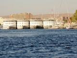 Kreuzfahrtschiffe in Assuan