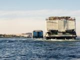 Schiffskonvoi nach Luxor