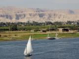 Luxor - Blick auf das Tal der Koenige