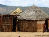 Dorf der Oromo