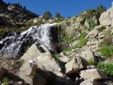 Wanderung vom See Juclar
