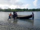 Kuakata - Mit dem Moped auf das Boot