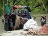 Fischerboot waschen