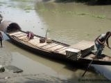 Boot eines Otterfischers