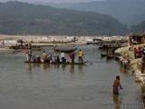 Mari River - Blick nach Indien