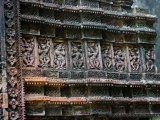 Puthia - Hindu Tempel, Terrakottaarbeiten