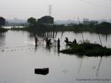 Dorf am Stadtrand von Dhaka