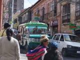 Strasse in La Paz