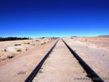 Gleise die  nach Chile führen
