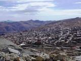 Bergarbeitersiedlung von Potosi