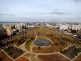 Brasilia - Blick auf die Hauptachse