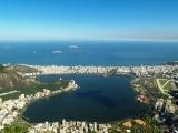 Blick vom Corcovado auf Rio de Janeiro