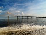 Manaus  - die teuerste Brücke Brasiliens