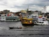 Blick auf den Hafen von Manaus