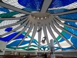 Brasilia -Innenraum Kathedrale Metropolitana