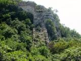 Verfallenes Stück Mauer