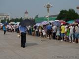 Schlange stehen vor dem Mao Mausoleum