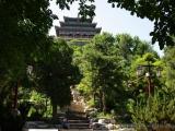 Tempel im Jianshan Park