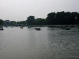 Hou Hai  (See) mit Booten
