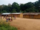 58 - Dorf auf dem Weg nach Yangambi