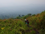 37 - Aufstieg zum Nyiragongo