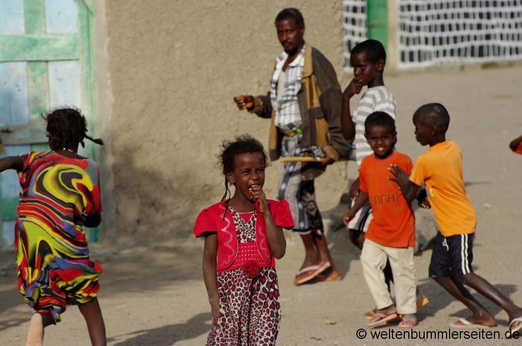 Kinder aus dem Kinderdorf