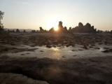 Sonnenaufgang am Lake Abbe