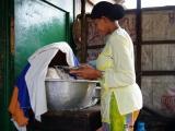In der Strassenkueche - Reistopf