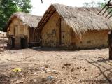 Huetten im Dorf