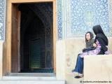 Eingang zur Scheich-Lotfollāh-Moschee