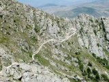 Weg nach Babak Castle
