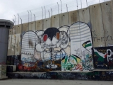 Bethlehem - israelische Sperranlage