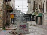 Hebron - Eingang zu einer jüdischen Siedlung