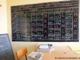 Stundenuebersicht im Lehrerzimmer