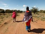 Unterwegs mit den Massai