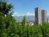 Medellin Blick vom Escobar-Haus