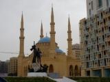Freiheitsdenkmal und Mohammed-al-Amin-Moschee