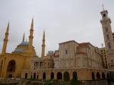 Mohammed-al-Amin-Moschee und maronitische St.-Georgs-Kathedrale