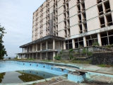 Ruine des Ducor Hotels