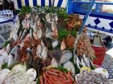 Angebot einer Fisch-Garküche