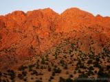 Granitfelsen bei Sonnenuntergang