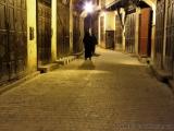 Medina von Fes nach Ladenschluss