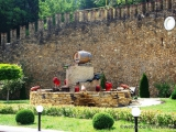 Rotweinbrunnen in MILEŞTII MICI